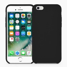 Classic Black Liquid Silicone Rubber iPhone6 Cover