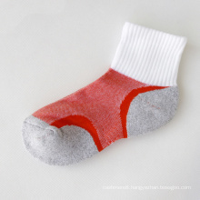 Children Women′s Cotton Half Terry Sports Socks (WA703)