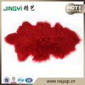 Fast Sale Long Hair Curly Mongolian Fur Skin