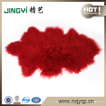 Wholesale Natural Shape Curly Fur Sheepskin