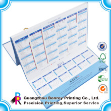2014 Customized design and high quality calendar /high quality photo wall calendar printing.