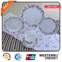 Set de cena de porcelana de alta calidad de 47 piezas