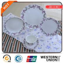 Alta qualidade 47PCS conjunto de jantar de porcelana