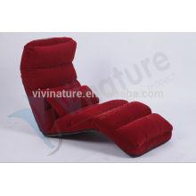 Home Portable Legless Lie Einzelschlafcouch \ Moderne Innen Einstellbare Wasser Repel Rückenlehne Komfortable Stuhl Stil Boden Sofa