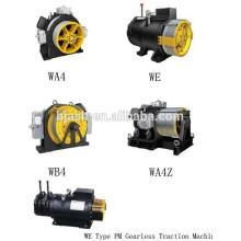 Elevador Máquina de tracção sem engrenagens