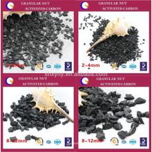 Sistema de lavagem a carvão com carvão ativado de coco de qualidade fina de qualidade