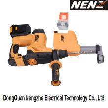 China ferramenta elétrica recarregável com sistema de coleta de poeira (nz80-01)