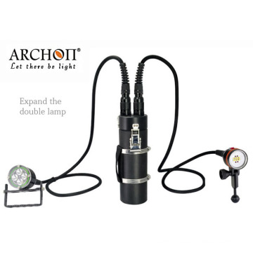 Archon Factory Aluminum Alloy Waterproof Rechargeable LED Diving Lights