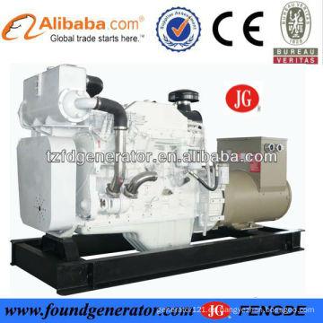 BV, CCS aprobado intercambiador de calor 150kva generador diesel marino venta