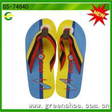 Fábrica de chinelos de verão EVA para homens novos (GS-74640)