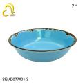 Conjuntos de louça melamina azul de alta qualidade / melamina jantar conjunto / utensílios de mesa de melamina