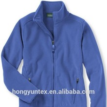 Weft Knitted 100% Polyester Polar Fleece Jacket