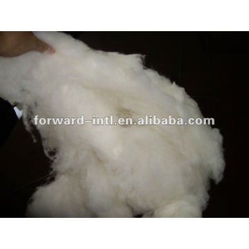 combed fine lana wool fiber for quilt