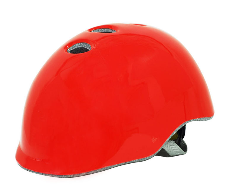 red skateboard helmets