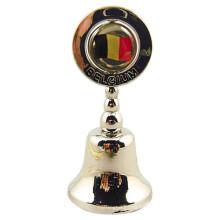 Regalo de Bélgica Regalo de Bell de la cena del metal con el logotipo de encargo (F8016)