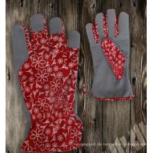 Garten Handschuh-Stoff Garten Handschuh-Synthetik Leder Handschuh-Handschuh-Schutzhandschuh