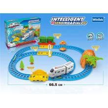 Intelligentes Spielzeug B / O Eisenbahn Zug Spielzeug mit Ton (H6964140)