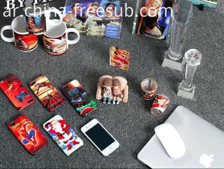 FREESUB Sublimation Heat Transfer Mobile Cover Printing Machine