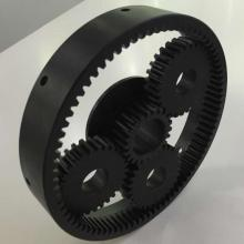 black aluminum ring gearbox for plantery