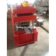 CE standard rolling shutter door roll forming machine steel door frame making machine