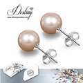 Destiny Jewellery Crystals From Swarovski Pearl Earrings Set