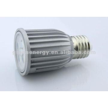 CE ROHS dimmable spotlight E27 6W 30 beam angel