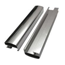 Hochglanzpolierte, spiegelgefertigte Aluminiumprofile