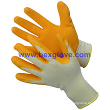Latex Wrinkle Finish Garden Glove