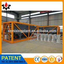 Silo de cemento horizontal, precio de fábrica del silo de cemento portátil