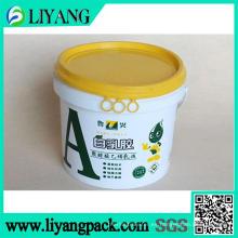 Película de transferencia de calor para cubo de látex blanco