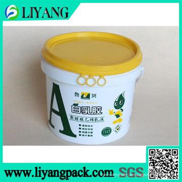 Wärmeübertragungsfolie für weißen Latex Eimer