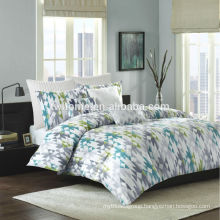 Ink & Ivy Sierra Mini Comforter Bedding Cotton Duvet Cover Green