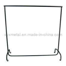 Vêtements lourds Powder Coating Metal Rail Garment Rack