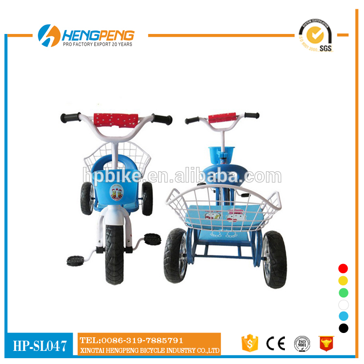 2017 Hot three wheel bike for children tricycle toy  to sell
