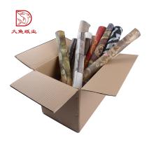 Vente chaude personnalisé logo ondulé carré petite boîte de rangement vente