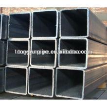 Secciones huecas tubo de acero cuadrado