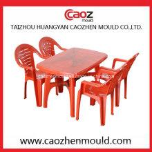 Пластиковый стул с подкладкой из литого под давлением / Плесень прямоугольного стола