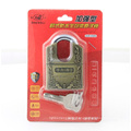 Zinc Alloy Shackle Protected Atom Padlock Lock