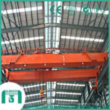 Pont roulant avec capacité de crochet 75 tonnes à 125 tonnes
