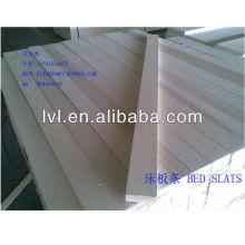 Lâminas de cama de madeira de álamo lvl