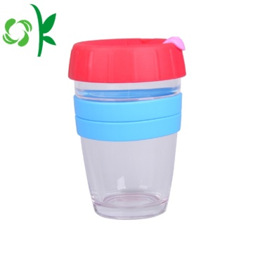 Custom Muliti-Color Silicone Coffee Cup Sleeve med logotyp