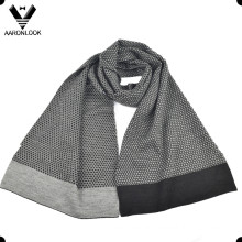 Fashion Jacquard 30%Wool 70%Acrylic Men Winter Scarf