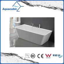 Bathroom Square Acrylic Free-Standing Bathtub (AB1516W)