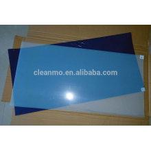 Tapete de laboratorio, tapete adhesivo, tapete azul hortera. estera adhesiva para sala limpia, tapete adhesivo de limpieza