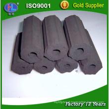 Briquetes do carvão vegetal do churrasco do hexágono de 10-30cm para venda