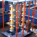 Arche en métal hydraulique galvanisé ondulé profil en acier panneau de toit feuille bref courbure rouleau de cintrage formant la machine à vendre