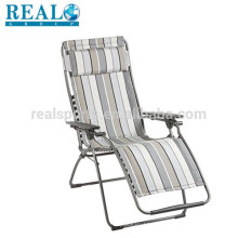 Realgroup Chaise Lounge Chairs High Quality Aluminium Beach Folding Chair