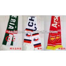 Лучший оптовый акриловый футбольный шарф