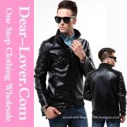 2015 Newest Fashion Man Winter Leather Jacket