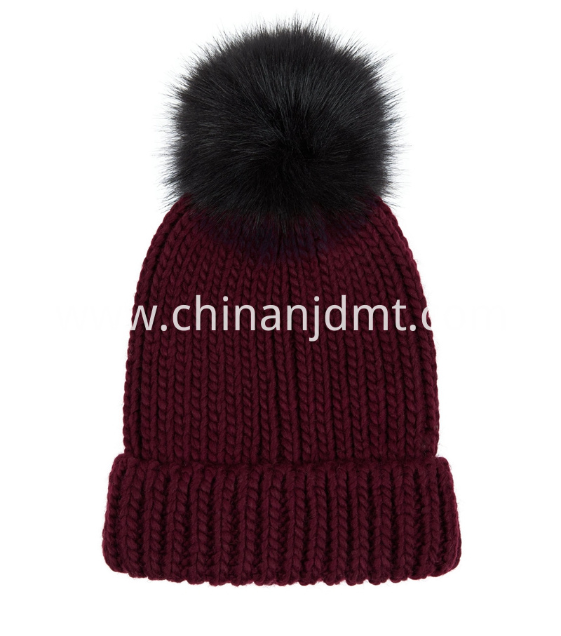 Ladies Chunky Beanie Hat and Scarves